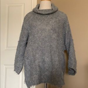 Free People Sweaters - Fuzzy blue free people sweater